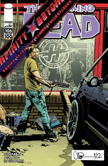 Walking Dead #106 Infinity and Beyond variant cover