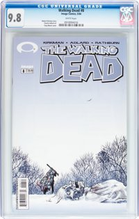 WD #8 CGC 9.8. Record sale $180. Click to buy yours