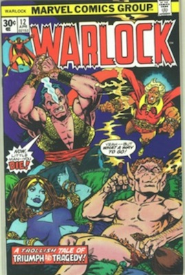 Warlock #12 30c Price Variant April, 1976. Regular Price Box
