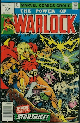 Warlock #14 30 Cent Variant August, 1976. Square Price Box