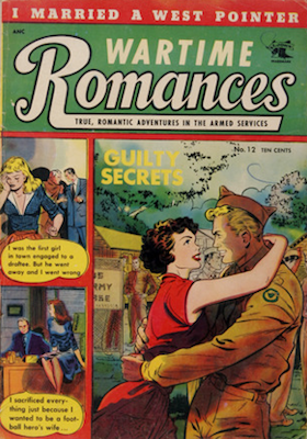Wartime Romances #12. Click for values