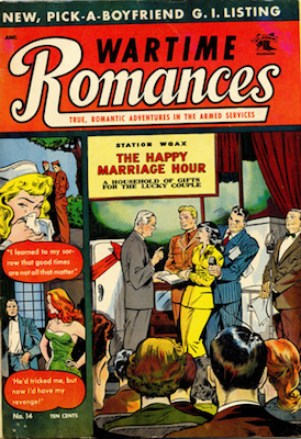 Wartime Romances #14. Click for values