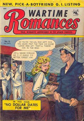 Wartime Romances #15. Click for values