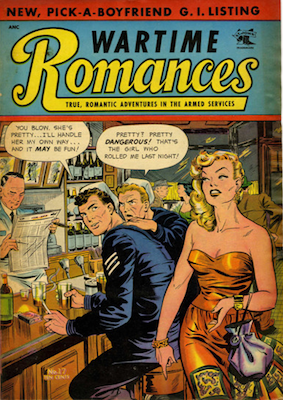 Wartime Romances #17. Click for values