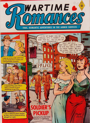 Wartime Romances #5. Click for values