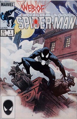 Web of Spider-Man #1 (1985): 1st Issue of Series. Click for value