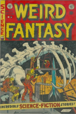 Weird Fantasy #22: Last Issue before the merger with Weird Science comics. Click to see current values