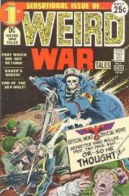 Weird War Tales is an interesting title, combining horror fiction with war. DC Comics ran this series from 1971 to 1983. Click for values