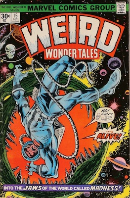Weird Wonder Tales #15 30c Variant April, 1976. Regular Price Box