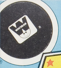 Example of Whitman logo on DC comics