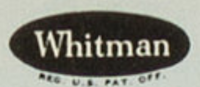 Example of Whitman logo on DC comics and coloring and activity books