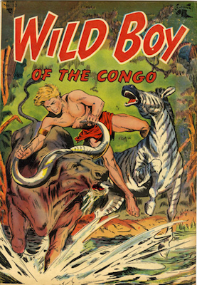 Wild Boy of the Congo #13. Click for values