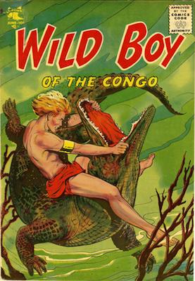 Wild Boy of the Congo #11. Matt Baker cover art. Click for prices