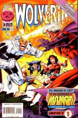 Wolverine v2 #104: Elektra Story and Cover Appearance. Click for values