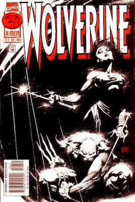 Wolverine v2 #106: Elektra Story and Cover Appearance. Click for values