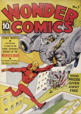 Wonder Comics #1: First Appearance, Wonder Man. Click for values