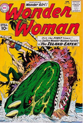 Wonder Woman #121: First Wonder Woman Family. Click for value