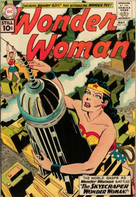 Wonder Woman Comics #122: First Wonder Tot. Click for value