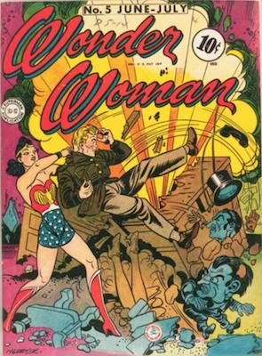 Wonder Woman Comics #5: First Dr. Psycho. Click for values