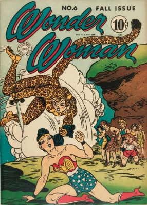 Origin and First Appearance, Cheetah, Wonder Woman #6, DC Comics, 1943. Click for value