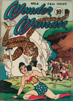 Wonder Woman Comics #6: First Cheetah. Click for value