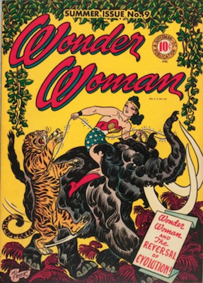 Wonder Woman Comics #9: First Giganta. Click for value