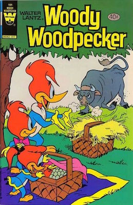 Woody Woodpecker #191. Click for current values.