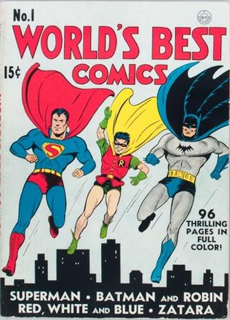 World's Best Comics #1. Click for values.