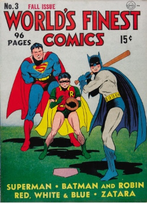 World's Finest #3 (September 1941): Origin and First Appearance of the Scarecrow. Click for values