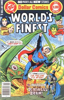 Origin and First Appearance, Count Vertigo, World's Finest Comics #251, DC Comics, 1978. Click for value