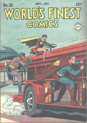 Origin First Appearance, Penny Plunderer: World's Finest #30. Click for values