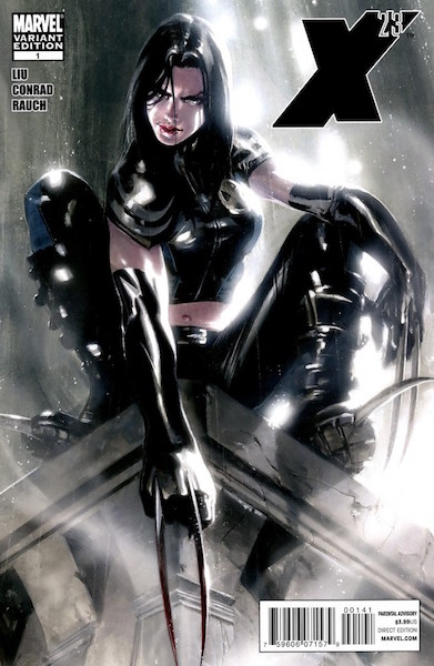 #20: X-23 1 Dell'otto Variant (2010). Click for values