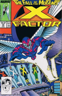Origin and First Appearance, Archangel, X-Factor #24, Marvel Comics, 1988. Click for value