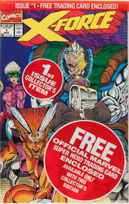 X-Force #1 (Marvel, 1991): Record Setting Cable-led Series; First Appearance of Tyler. Click for values