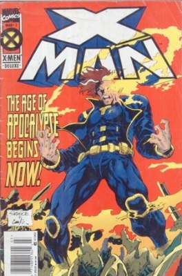 Origin and First Appearance, X-Man, X-Man #1, Marvel Comics, 1995. We'll appraise your comics free.
