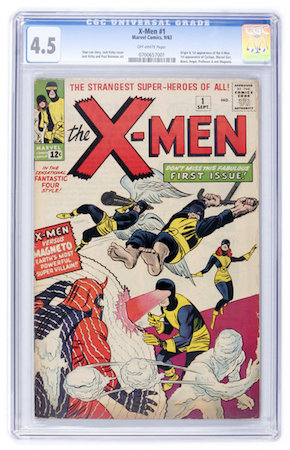 We would FAR rather own this VG+ copy of X-Men #1 than a high-grade Bronze Age book like X-Men #94.