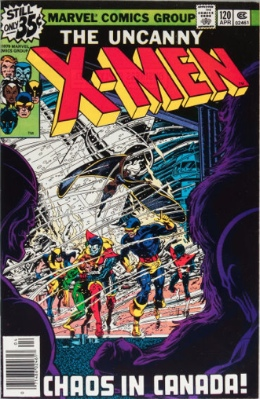 Origin and First Appearance, Alpha Flight, The Uncanny X-Men #120, Marvel Comics, 1979. Click for values