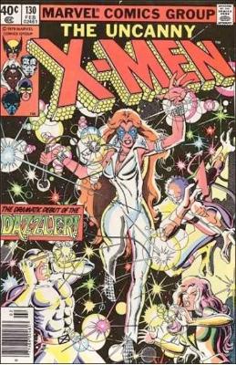 Origin and First Appearance, Dazzler, Uncanny X-Men #130, Marvel Comics, 1980. Click for value