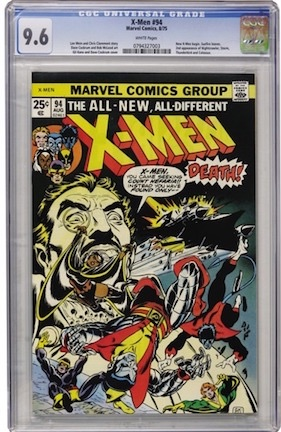 A beautiful book, but is an X-Men #94 CGC 9.6 more special than owning an X-Men #1?