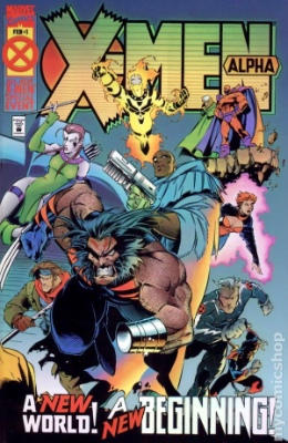 Evil Iceman and Dark Beast (First Appearance: X-Men: Alpha #1, February, 1995). Click for value