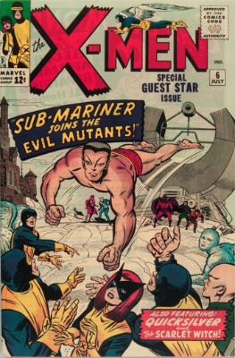 X-Men #6: record price $9,500