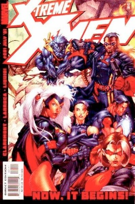 Origin and First Appearance, X-Treme X-Men, X-Treme X-Men Volume #1, Marvel Comics, 2001. Click for value