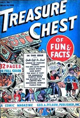1948 treasure chest of fun facts Vol. 3 No.1 -- none of the comics from this series are worth any real money