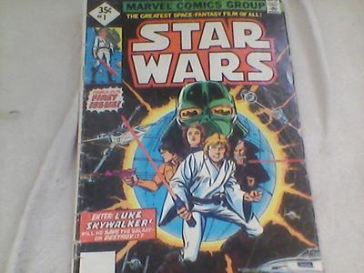 1977 Star Wars #1 35c Variant? Nope, Reprint
