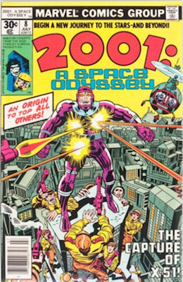 Hot Comics 2020 #48: 2001 8 (2001 a Space Odyssey #8), First Machine Man. Click to order a copy