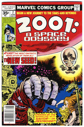 2001: A Space Odyssey #7 35 Cent Price Variant