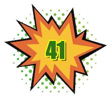Hot Comics #41