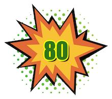100 Hot Comics #80