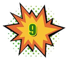 100 Hot Comics #9