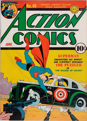 Action Comics #49. Click for value